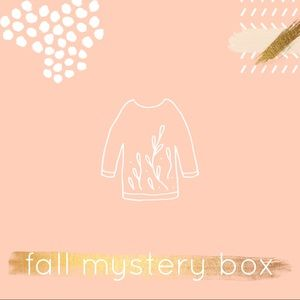 Curated • Fall • mystery box • 3 piece